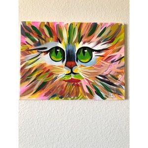 Beautiful cat painting❤️